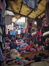 Gikomba Second Hand Clothing Market in Nairobi