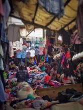 Gikomba Second Hand Clothing Market in Nairobi