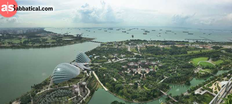 Singapore is just perfect for sightseeing!