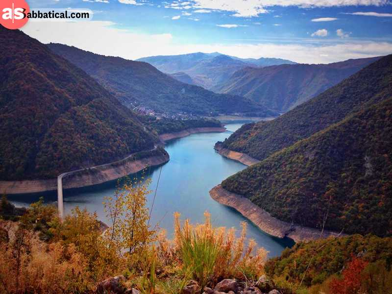 Tara Canyon is the deepest water canyon in Europe and a place that you absolutely must experience while in Montenegro.