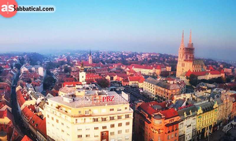 Zagreb is the historic capital of Croatia