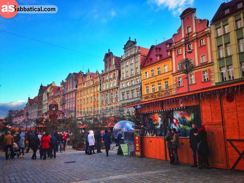 One of the numerous festivals that give Wroclaw a distinct, lively vibe.