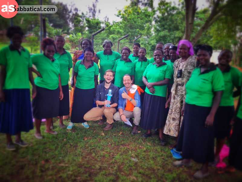 adrian is doing some pro bono consulting for angaza in kenya