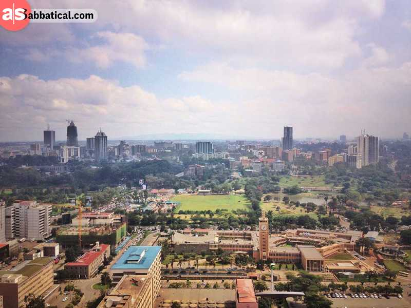 Central Business District CBD in Nairobi