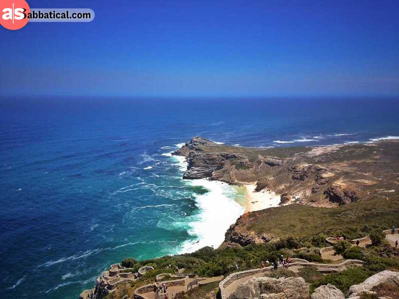 Near Cape Town: Cape of Good Hope in Cape Point National Park