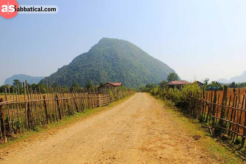 Pha Tad Ke is a great showcase of beautiful Laotian landscape.