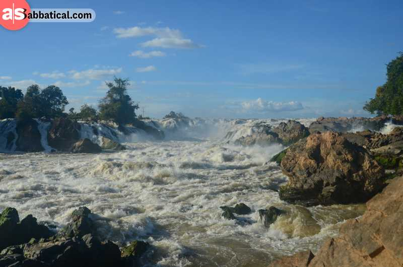 4000 islands or Si Phan Don, is one of the most beautiful places you will come across in Laos.