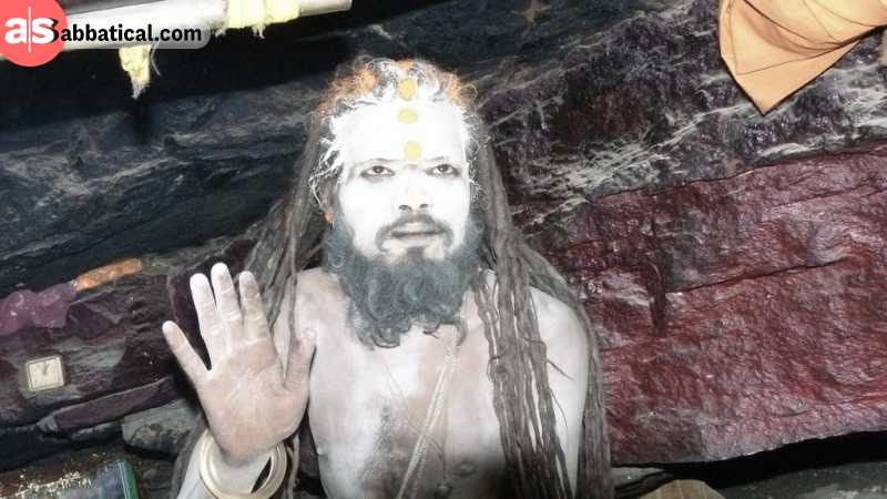 The Aghoris practice a lifestyle that practices consuming the meat of the corpses and doing drugs to allegedly channeling dark magic.