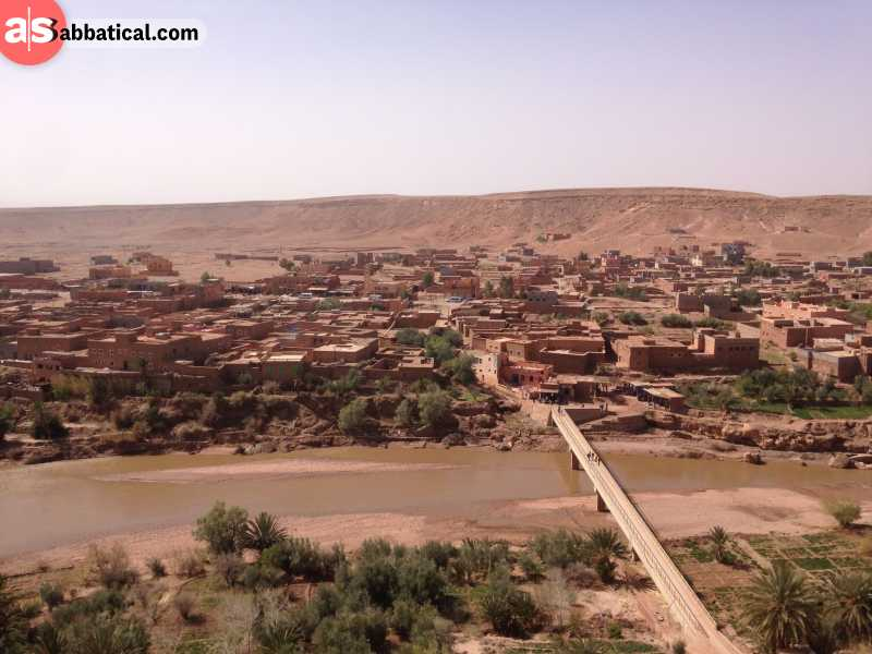 Ait Benhaddou landscape