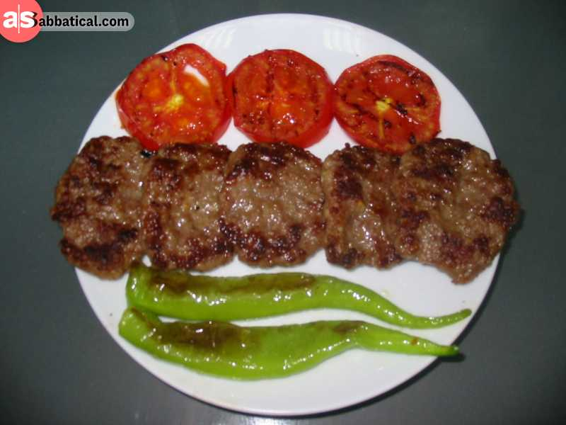 Akcaabat Kofte is a name given to a Turkish meatball dish.