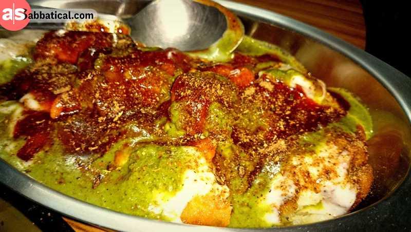 Aloo Tikki is a popular evening snack in Pakistan.