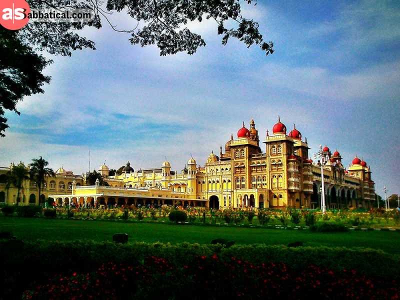 Amba Vilas Palace is one of the most beautiful palaces in India that is inspired by numerous architectural styles.