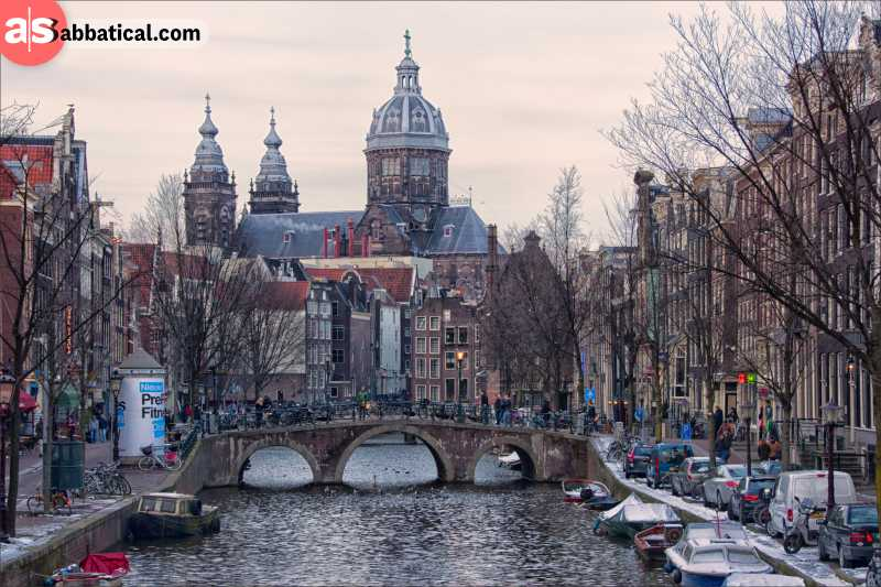 Amsterdam is a beautiful city filled with lots of coworking spaces and other cool things for you to immerse into!