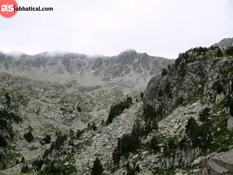 Andorra is an amazing destination to visit for trekking and enjoying in the mountain breeze.