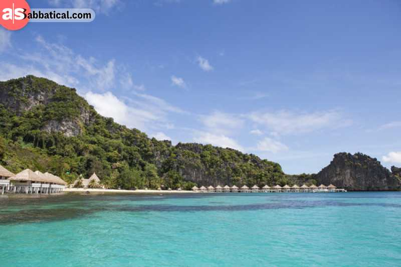 Apulit Island is one of the most exclusive beach resorts in the Philippines.