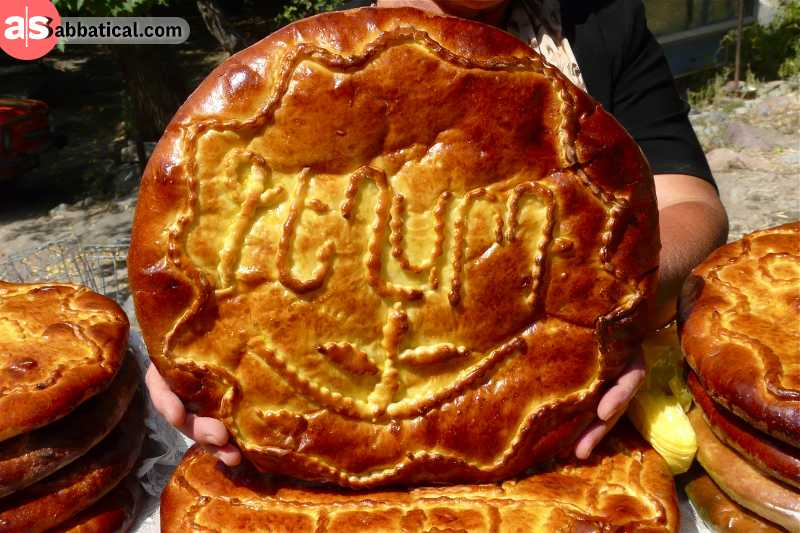 Where is Armenia, the traditional food is really special, and Armenians really love their bread!