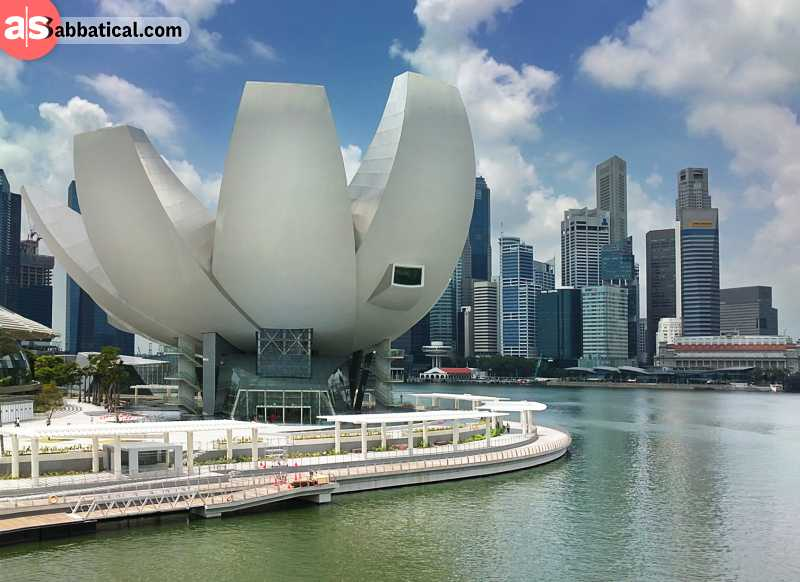 Inside the Art Science Museum, there are numerous customized galleries, one of the most popular is the Future World.
