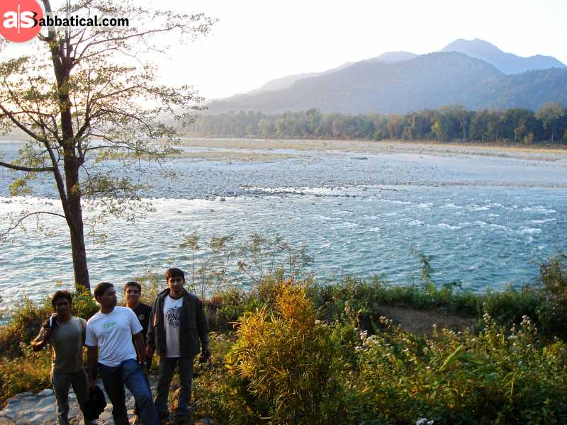 This is just one of many other diverse areas in the  Manas National Park.