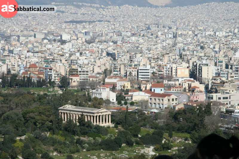 After the economic crisis, Athens has become a bustling city for various startups.