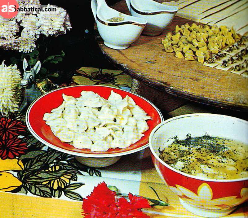 Cuisine of Azerbaijan is similar to the food of neighboring countries.