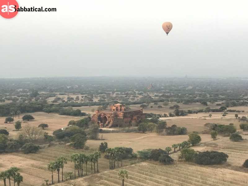While Bagan ballon tours are pretty well-known, it's an experience you can't miss!
