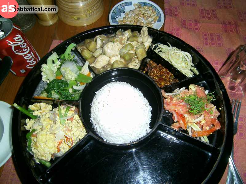Bagan is most probably the best place to try out the exotic Myanmar food.
