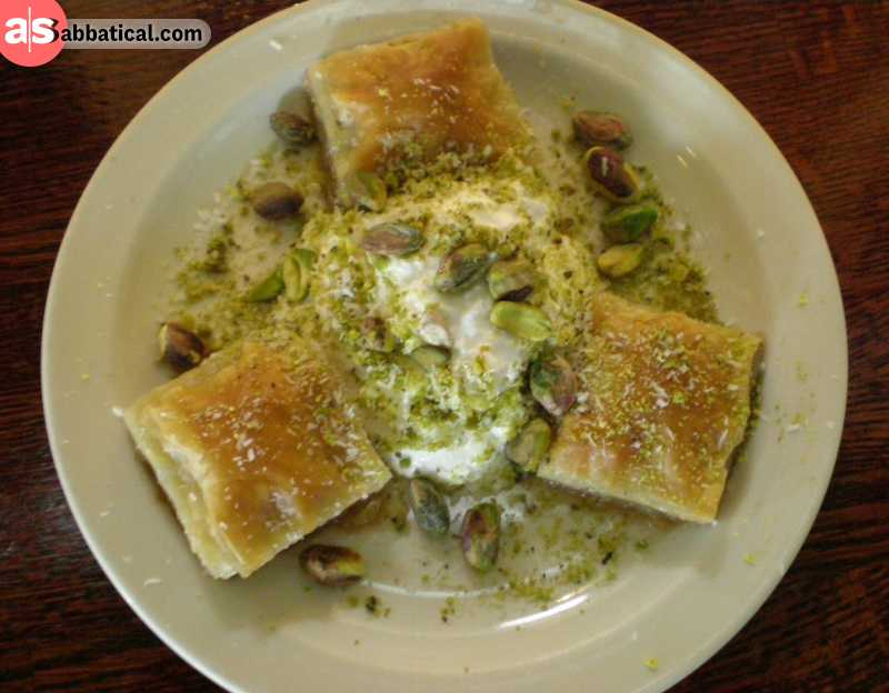 Baklava is most probably the most popular dessert in Turkey!