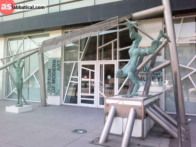 Baku Museum of Modern Art is an example of the developing modern culture of Azerbaijan.