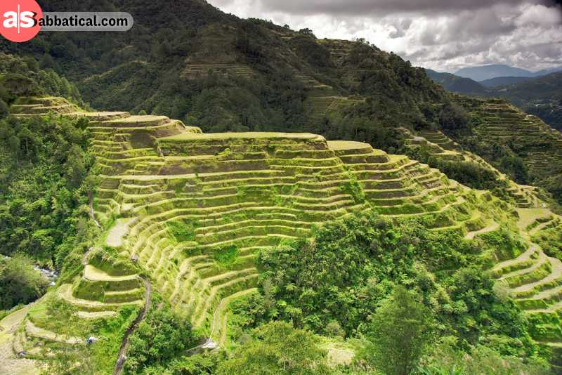 The rice terraces in Banaue are one of the most famous Philippines attractions.