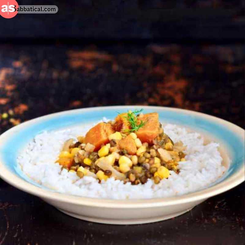 Batar Da'an is a popular vegetarian stew you can find in Timor Leste.