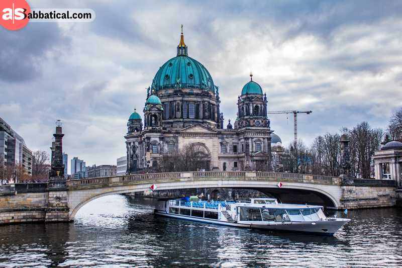 Berlin has amazing architecture known throughout Central Europe.