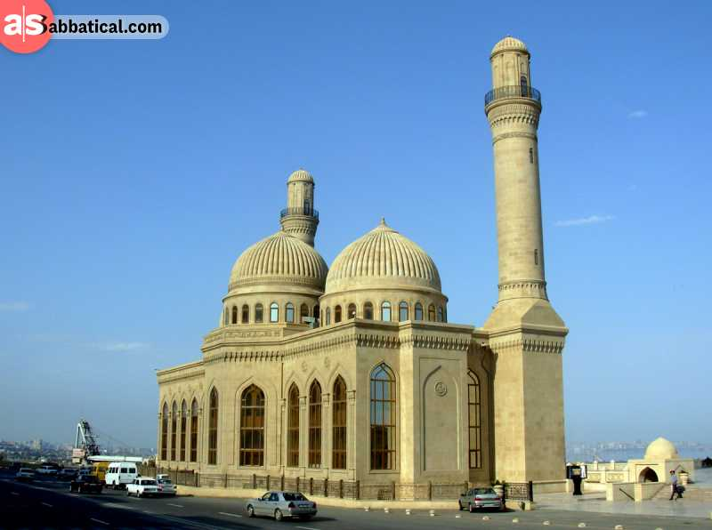 The reconstruction of the Bibi-Heybat Mosque can still make your jaw drop.