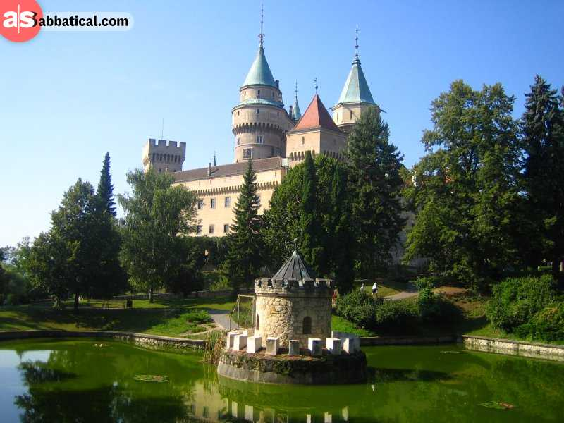 Bojnice Castle is just one of the many picturesque castles in Slovakia.