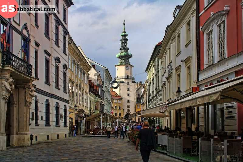 Bratislava is a perfect contender for the most beautiful capital in Europe.
