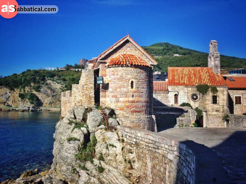 Old city in Budva