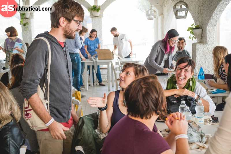 Coworking spaces can be a great place to make new friends and to build a freelancer community.