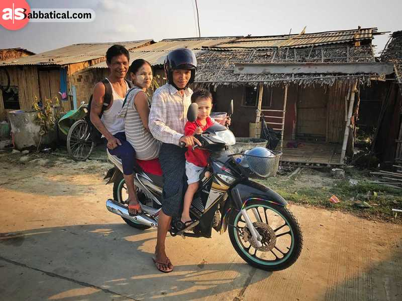 Family is an integral part of the Burmese culture.