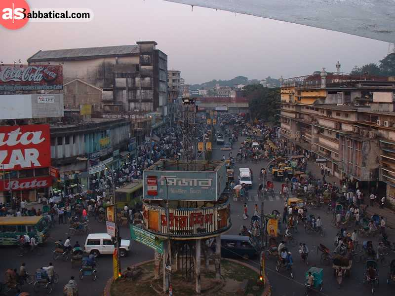 Chittagong is the second largest city in Bangladesh and is a place where many cultures collide.
