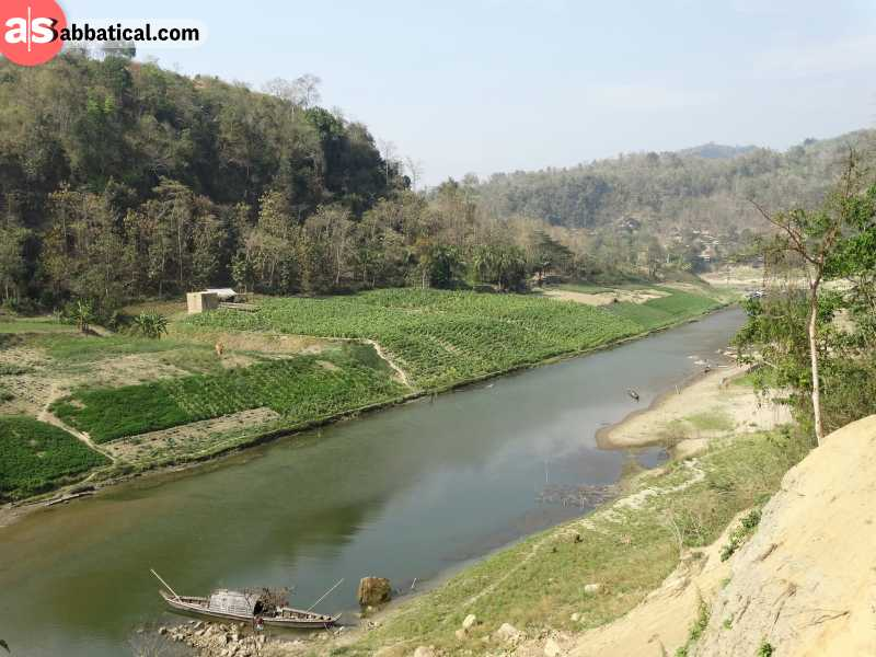 The area around Chittagong offers many trekking opportunities!