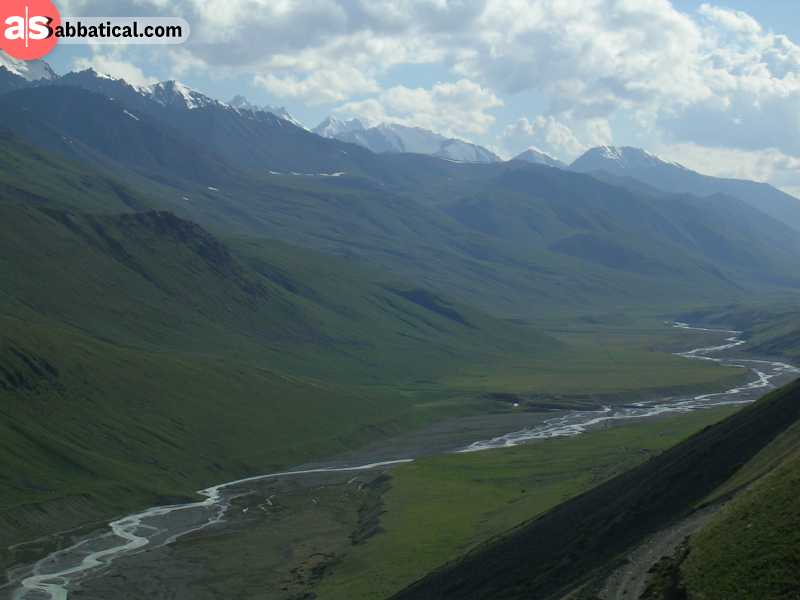 Chon Kemin National Park is an example of breathtaking and dramatic nature of Kyrgyzstan.