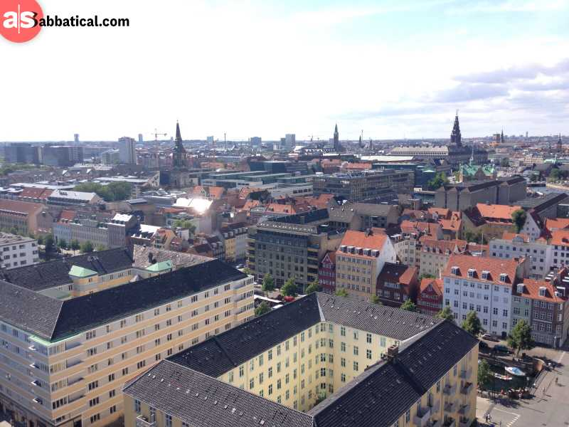 Copenhagen from the top