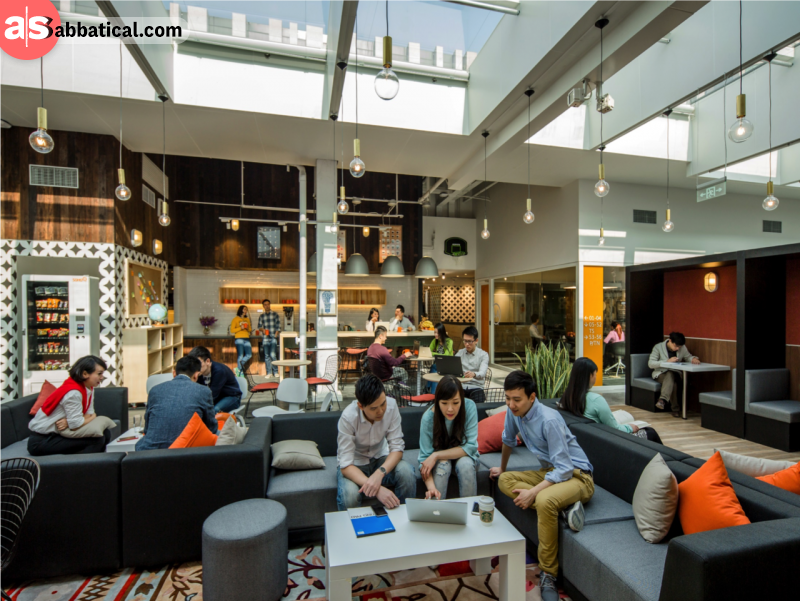 Coworking spaces really boost your productivity as you have everything that you need in the palm of your hands.