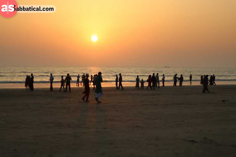 Bangladesh has some of the longest sea beaches in the world located in Cox's Bazar.