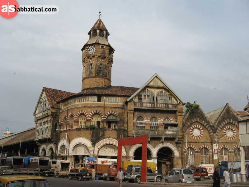 The iconic Crawford Market is where you'll find the authentic local goods in Mumbai.