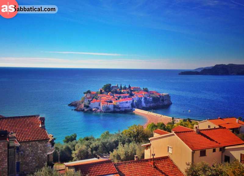 The idyllic coast of the Adriatic Sea.