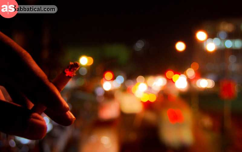 Dhaka doesn't offer your traditional nightlife!