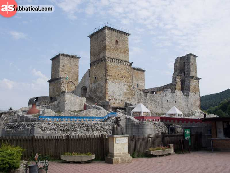 Diosgyor Castle is an authentic 12th century castle that will please every history lover.