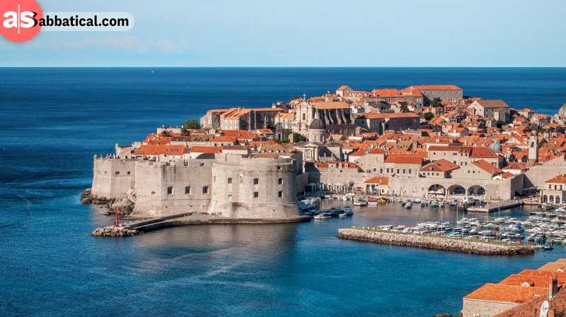 Dubrovnik is one of the most beautiful coastal cities in the world