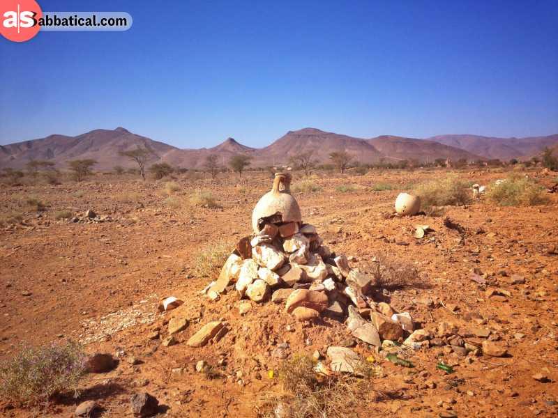 Erg Chebbi, the desert