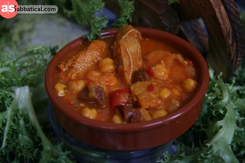 Escudella is a traditional Andorran dish that is served on holidays and is an Catalan influence.